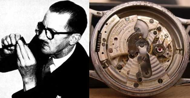 First automatic watch by John Hardwood